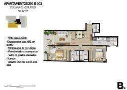 apartamentos em botafogo  de 2 / 3 e 4 suites com lazer