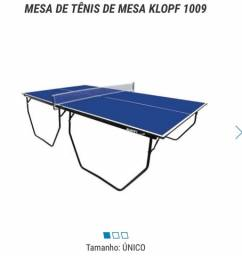 klopfMesa de Tênis de Mesa Klopf 1009