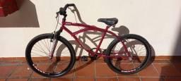 Bicicleta ROSA  NOVINHA !!! 250,00
