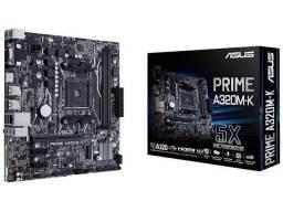 Placa-Mãe Asus Prime A320M-K/BR,AMD com caixa, nota fiscal e na garantia