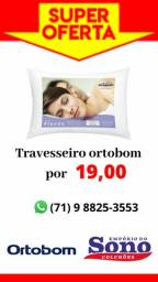 Travesseiro Ortobom (NOVO)