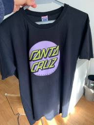 Camiseta Santa Cruz Preta