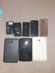 Vendo lote de celulares E tables