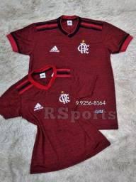 Kit casa camisa do Flamengo
