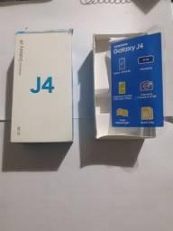 Caixa de Samsung Galaxy J4