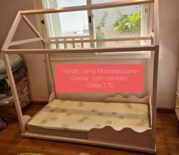 Cama Montessoriana  Divicar Rosa