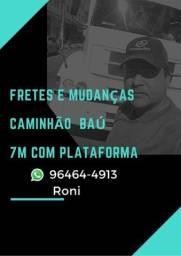 Fretes e Mudanças pra todo Rio e Grande Rio inter estaduais