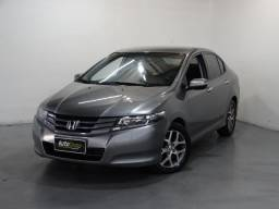 Honda City Ex 1.5 Flex Automático Cinza