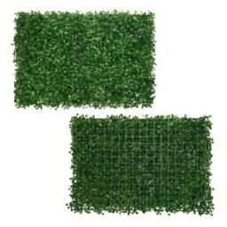 Placas de grama artificial