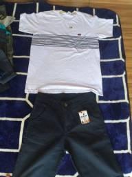 Bermudas e camisas masculinas