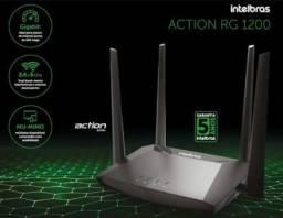 Roteador Intelbras Action Rg1200 Dual Ac1200 Mbps Gigabit