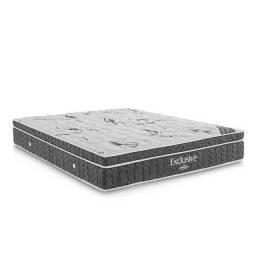 Colchão Ortobom Exclusive Casal com Molas Nanolastic 30x188x138