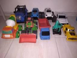 Brinquedo 9 carrinhos