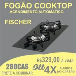 Fogão 2 Bocas Cooktop Fischer