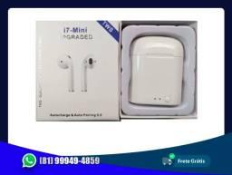Fone Bluetooth I7s Upgraded
