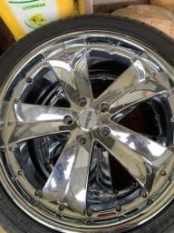 Rodas 20 e pneus novos