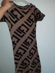 Vestido de tricô mind  (M)