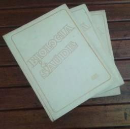 Livros Biologia Saúde (Juntos 50,00)