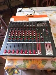 Vendo mesa de som 8 canais
