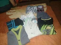 Kit roupa menino