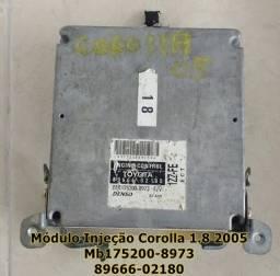 Módulo Injeção Corolla 1.8 2005 Mb175200- *6-02180