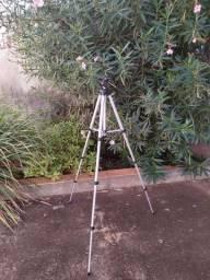Tripé em alumínio para câmeras fotográficas