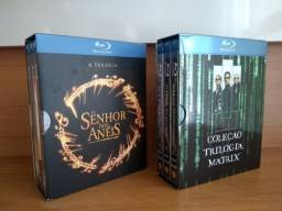 DVD'S - Atenção Colecionadores - O Senhor dos Anéis e Matrix (Usados e em bom estado)