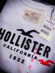 camisetas hollister basicas atacado