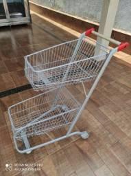 Vendo carrinhos de supermercado