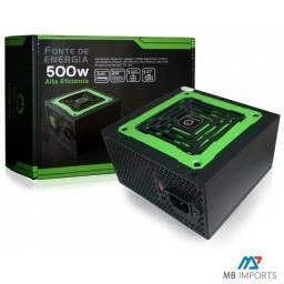 Fonte One Power 600W Nova Lacrada com Garantia