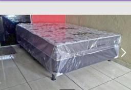 cama box casal novo da fábrica