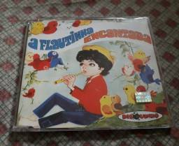 CD A Flautinha Encantada - Coleção Disquinho - Excelente Estado
