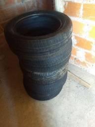 vendo 5 pneus remold aro 16