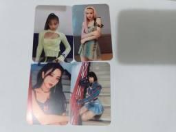 CARDS DO BLACKPINK 8 reais quatro unidades