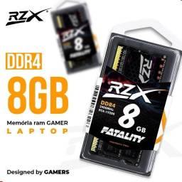 Título do anúncio: 2 Memoria Notebook 8GB ddr4 3200 Mhz