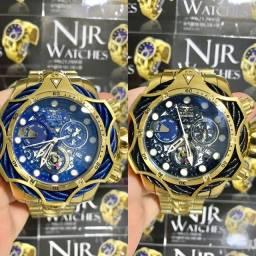 Relógio Invicta venom reserve azul/preto novo