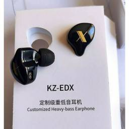 Fone de ouvido In-ear KZ EDX com Microfone