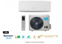 NOVO - Ar Condicionado Split Inverter 18.000 BTUs Springer Midea 220V