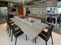 Cozinha com ilha - Móveis exclusivos sob medida!