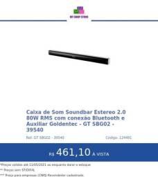 Caixa de Som Soundbar