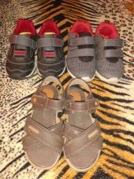 Tênis e sandália infantil masculino .