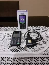 Vendo Celular P70S com sistema operacional KaiOS, tecnologia Dual Sim e Wi-Fi
