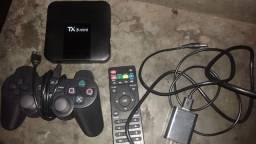 Tv box com mais 10mil jogos