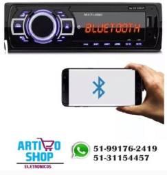 Radio Carro Mp3 Player Usb New One Fm Bluetooth