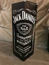 Caixa Jack Daniels vazia para decoração