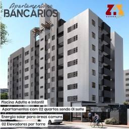 Apartamento no Bancários 02 quartos