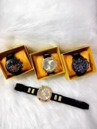 Relógio Masculino Pulseira silicone