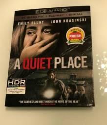Bluray 4k Um Lugar Silencioso (A Quiet Place) Usado somente uma vez
