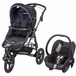 Carrinho (3rodas) + bebê conforto + base (marca bebéconfot)