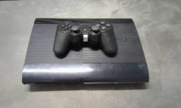Playstation 3 Super Slim 250GB + 4 Jogos